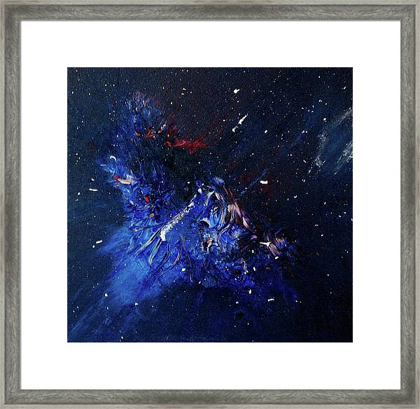 Framed Print featuring the painting Celestial Harmony by Michael Lucarelli