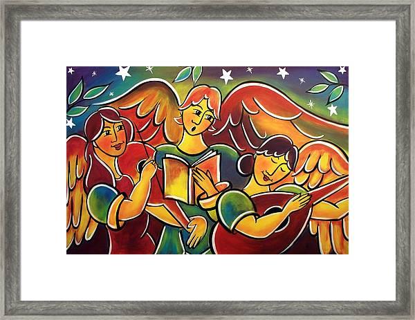 Celestial Symphony Framed Print