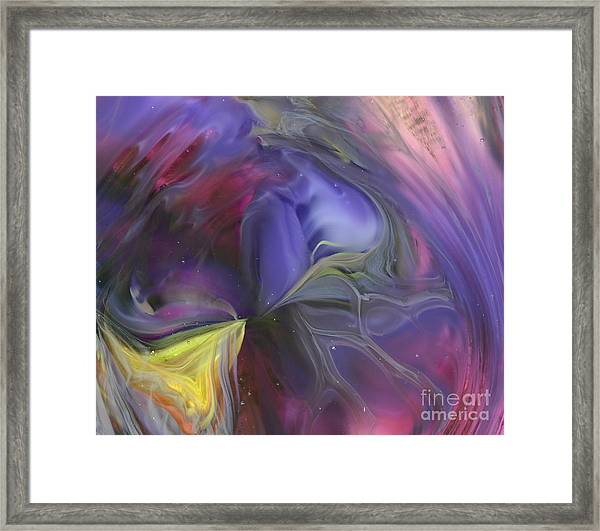 Celestial Vortex Framed Print