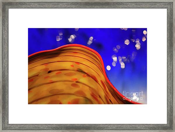 Celestial Wave Framed Print