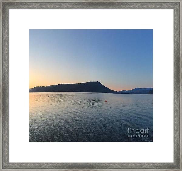 Celista Sunrise 2 Framed Print