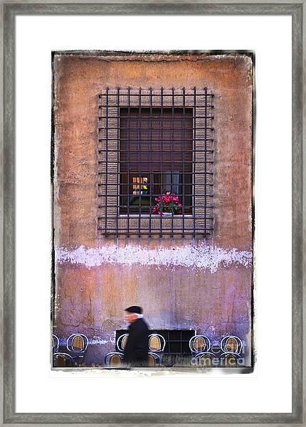 Cell Flowers Framed Print