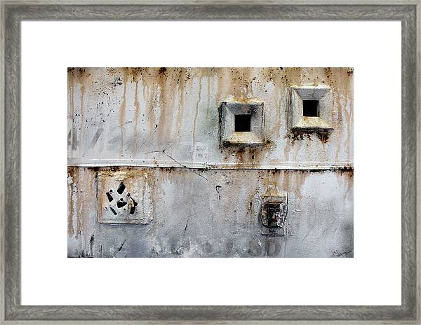 Cell Window Framed Print by Ralph Levesque