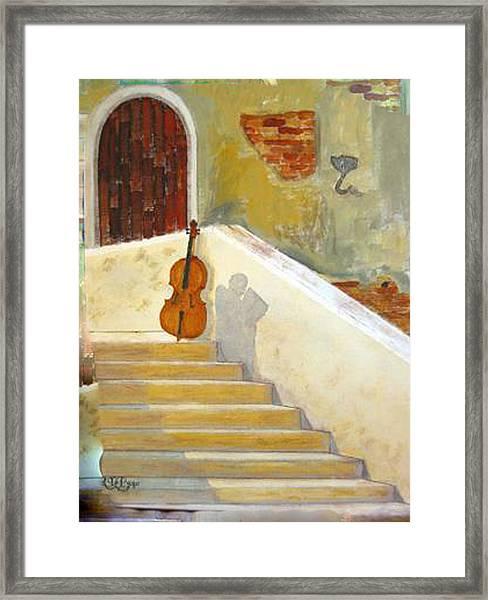 Cello No 3 Framed Print