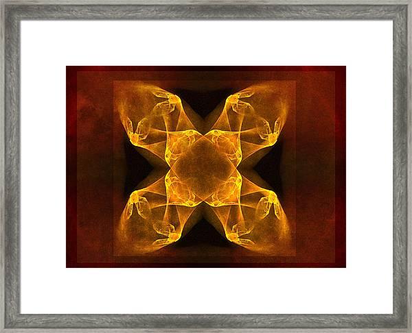 Celtic Gothica Framed Print