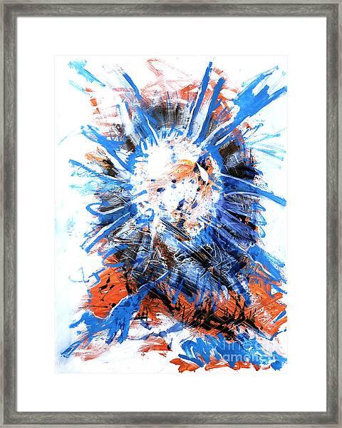 Center Of Everything Framed Print