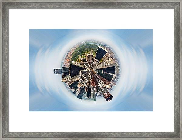 Eye Of New York Framed Print