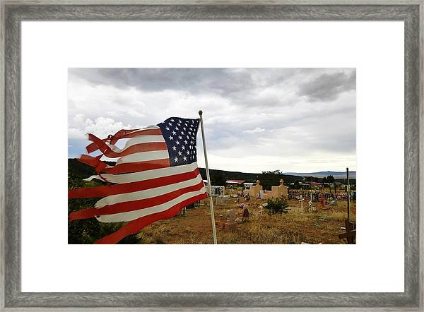 Cerro, New Mexico Framed Print