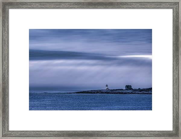 Cerulean Straitsmouth Framed Print