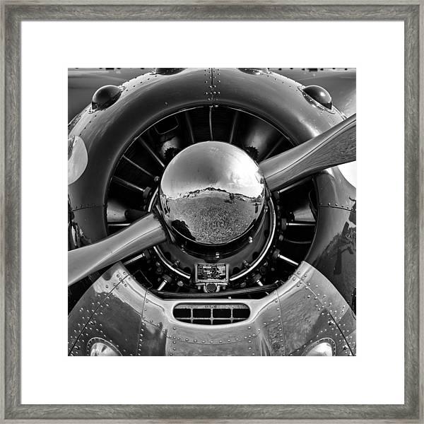 Cessna 195 Framed Print