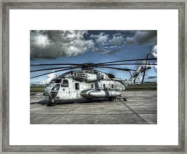Ch-53 Super Stallion Framed Print
