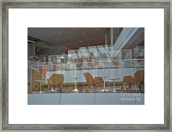 Chair Reflections Framed Print by Andrea Simon