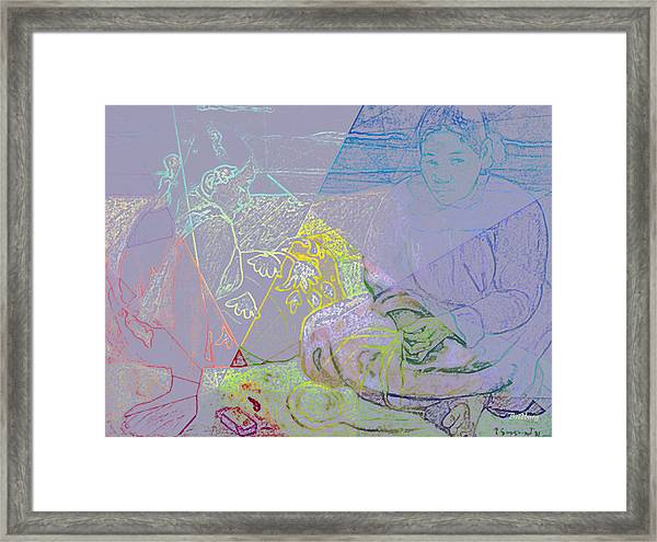 Chalkboard Framed Print