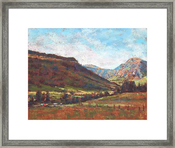 Chama Valley Light Framed Print by James Roybal
