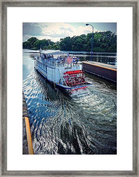 Champlain Canal Patriot Framed Print