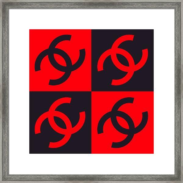 Chanel Design-3 Framed Print