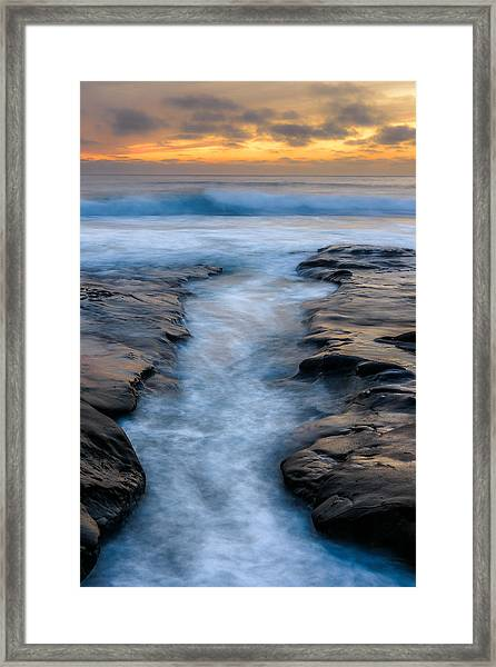 Channel Framed Print