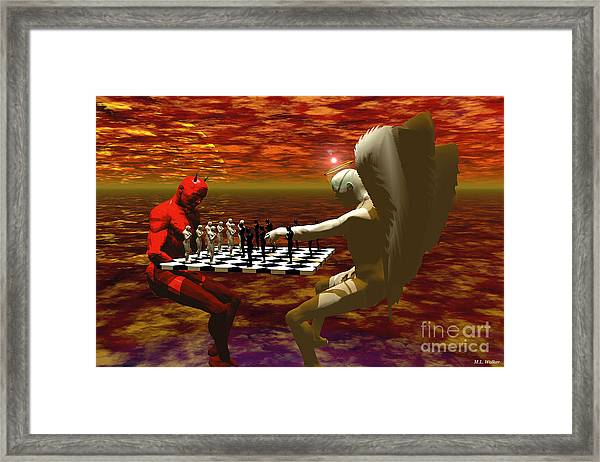 Chaos And Order Framed Print