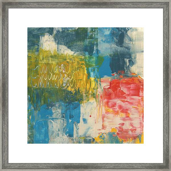 Hoopla Framed Print