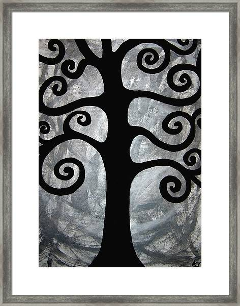Chaos Tree Framed Print