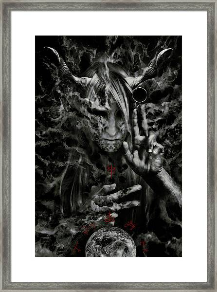 Chaosbringer Framed Print by Cambion Art