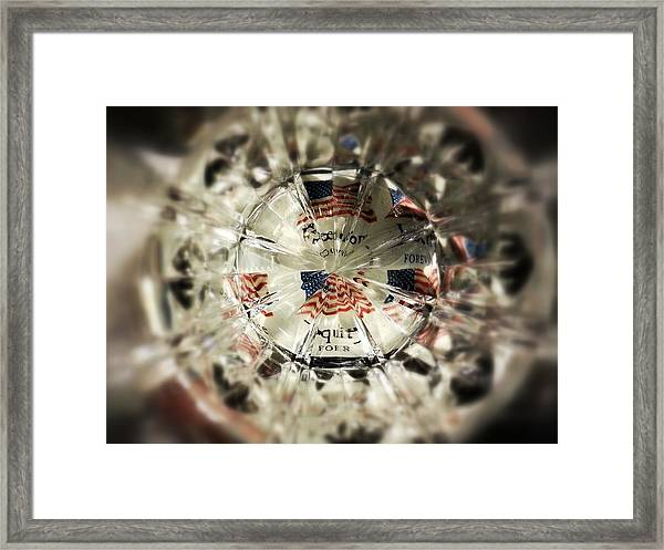 Chaotic Freedom Framed Print