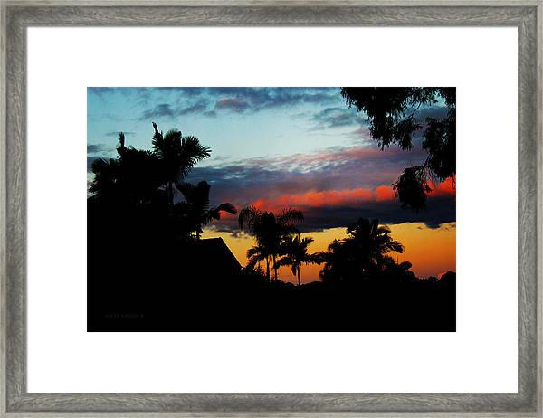 Chapel Hill Afternoon Framed Print