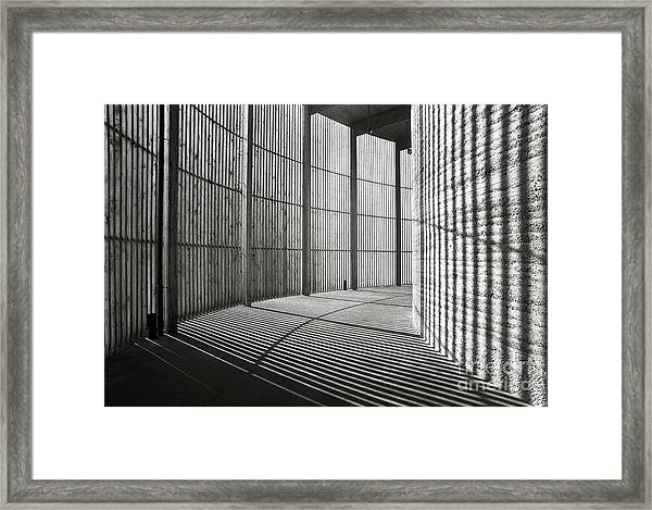 Chapel Of Reconciliation  Framed Print