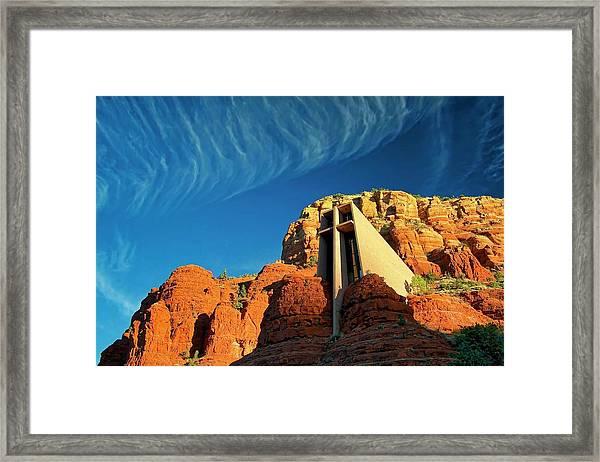 Chapel Of The Holy Cross, Sedona, Arizona Framed Print