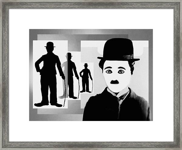 Chaplin, Charlie Chaplin Framed Print