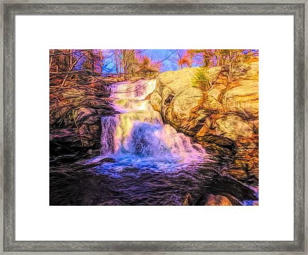 Chapman Falls Connecticut Framed Print