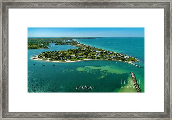 Chapoquoit Island Framed Print