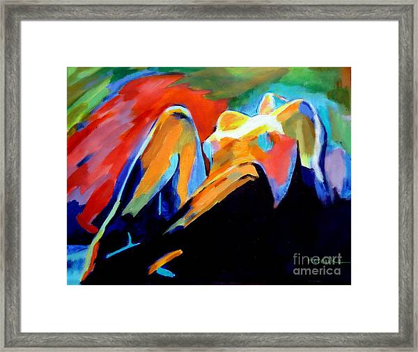 Charge Of The Soul Framed Print