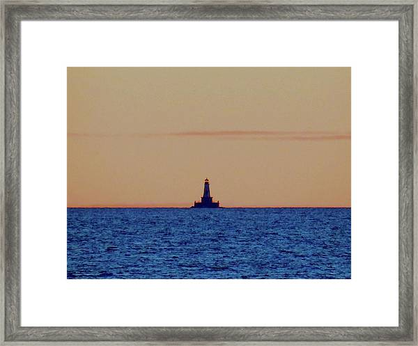 Charity Light Framed Print