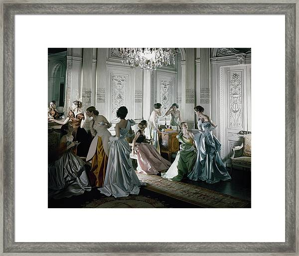 Charles James Gowns Framed Print