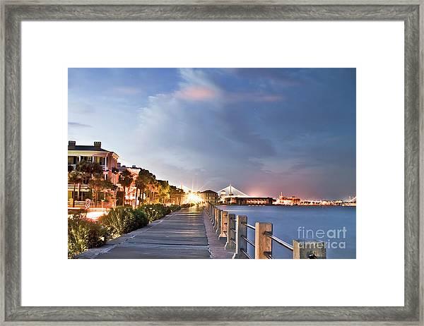 Charleston Battery Photography Framed Print