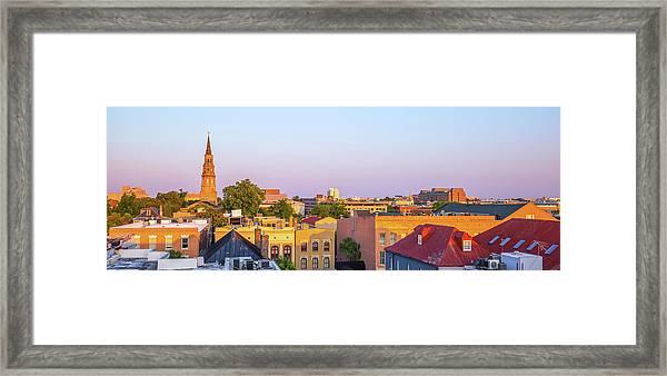Charleston Glows Framed Print