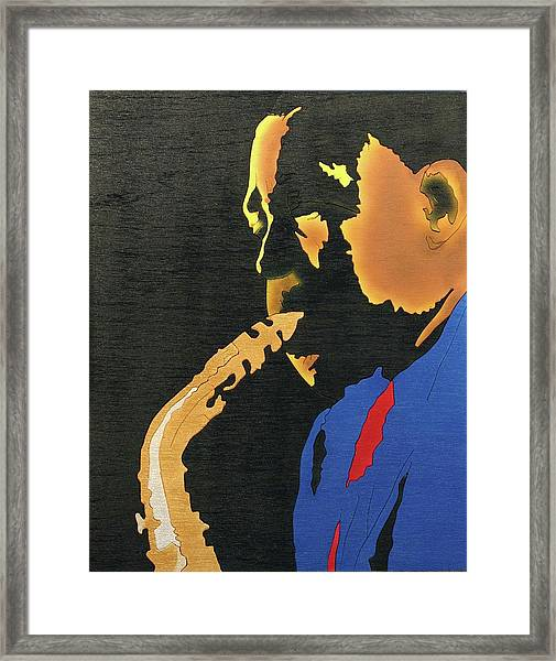Charlie Parker  Framed Print