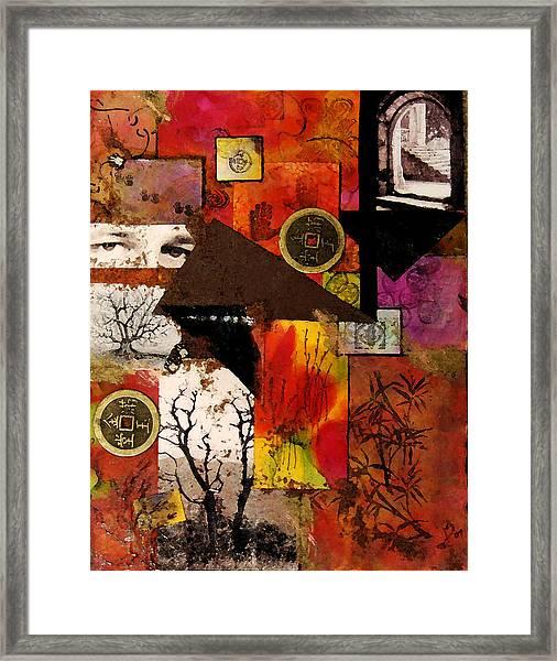 Charlie Framed Print by Patricia Motley