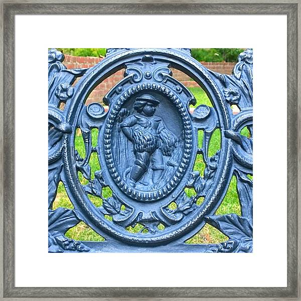 Charming Lovely #decorative #iron Framed Print