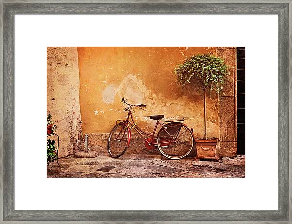 Charming Lucca Framed Print