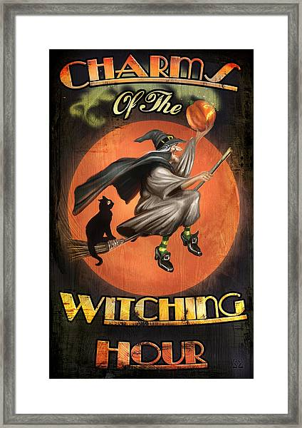 Charms Of The Witching Hour Framed Print