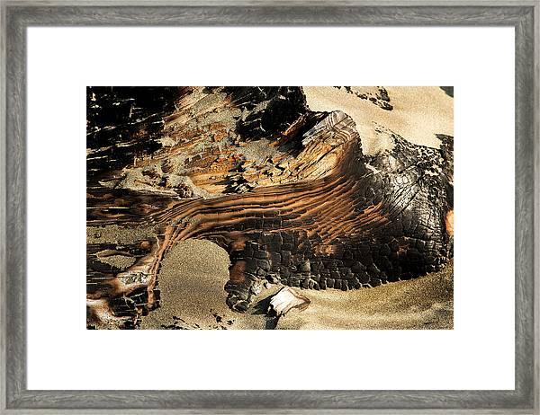 Charred Framed Print