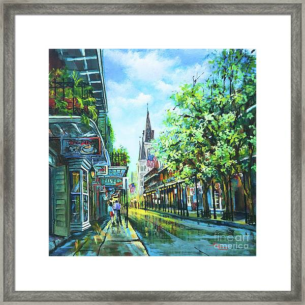 Chartres Afternoon Framed Print