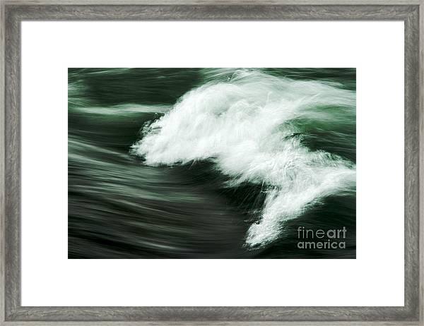Chasing Framed Print by Hideaki Sakurai