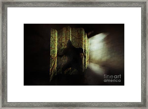 Chasing Shadows Framed Print