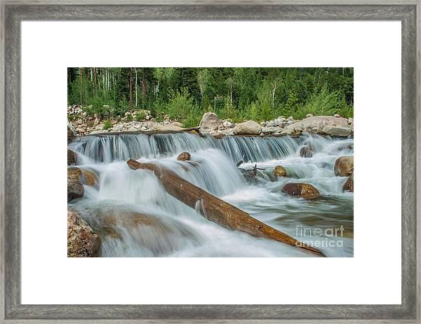 Chasm Falls Framed Print