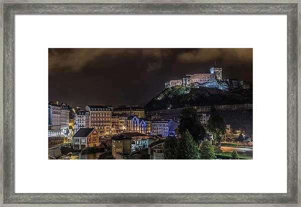 Chateau Fort Of Lourdes Framed Print