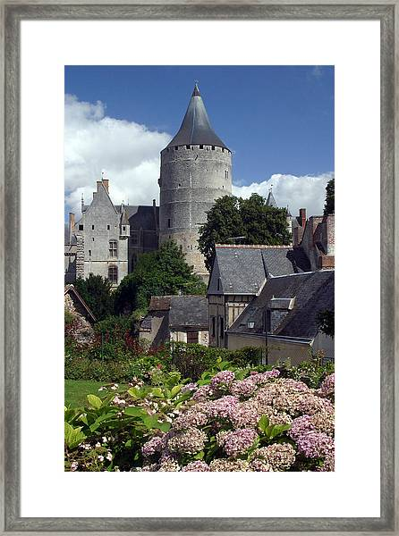 Chateaudun 3 Framed Print by Jez C Self