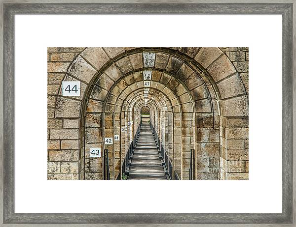 Chaumont Viaduct France Framed Print